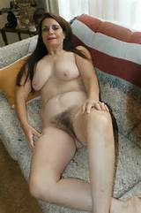 Real hairy natural women