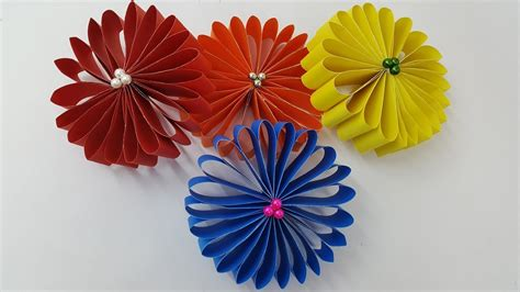 paper flowers  easy  simple paper