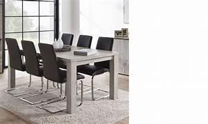 Table Chene Gris : table industrielle ch ne gris et marbre ~ Teatrodelosmanantiales.com Idées de Décoration