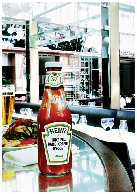 Heinz Tomato Ketchup on Behance