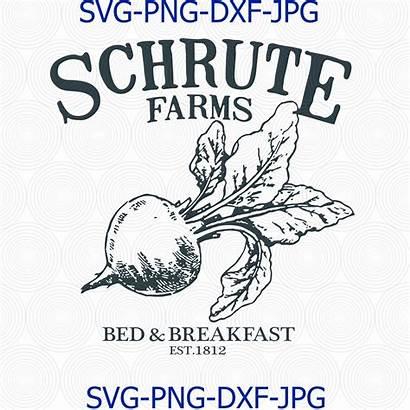Svg Schrute Office Farms Bed Breakfast Scranton