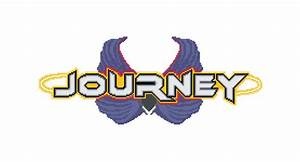 Journey Band Logo Cross Stitch Pattern 80s by ...