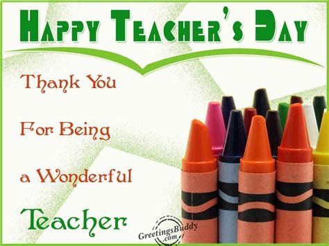 happy teachers day greetingsbuddycom
