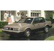 &187 1984 Pontiac 6000 Manufacturer Promo