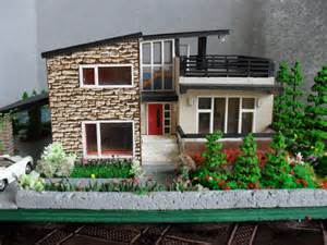 fresh miniature home models modern miniature model house with property ho scale