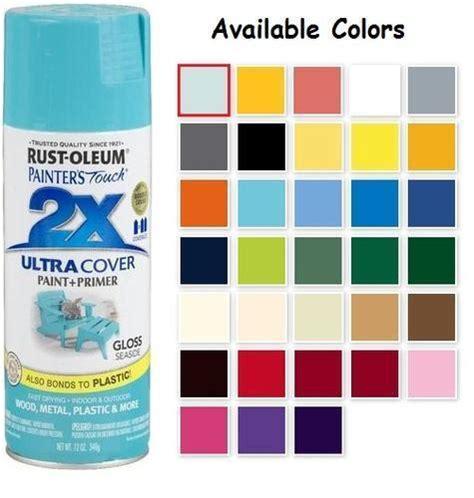 rustoleum colors rust oleum gloss spray paint colors home painting