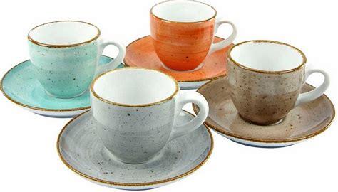 creatable geschirr bunt creatable espressotasse 187 vintage nature 171 4 tlg porzellan kaufen otto