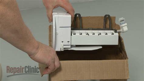 ge refrigerator stopped making ice ge refrigerator ice maker  working repair parts
