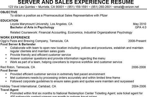 waitress resume templates free premium