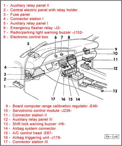2002 Audi A6 Fuse Box Diagram by Headlights Audiforums