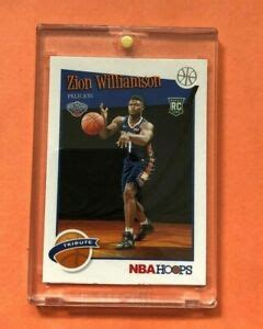 See more ideas about zion, williamson, new orleans pelicans. ZION WILLIAMSON PANINI NBA HOOPS TRIBUTE 2019-20 HOT ROOKIE CARD RC #296 Mint! | eBay