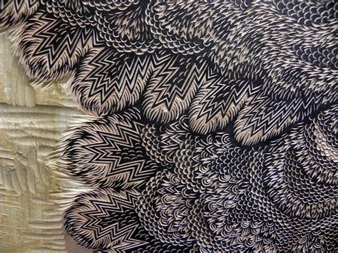 Moth: A New Woodcut Print from Tugboat Printshop   Colossal