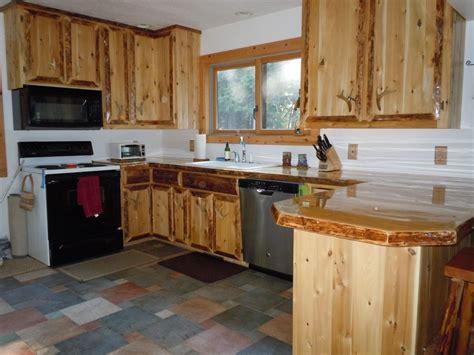 cedar kitchen cabinets ideas rustic custom cedar wood kitchen cabinets wood kitchen