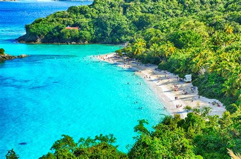 Cruz Bay Saint Johns Us Virgin Islands Photos World