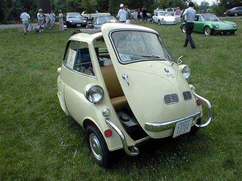 Soooo Cute! Bmw Isetta. This Is A Micro Car With 3 Wheels