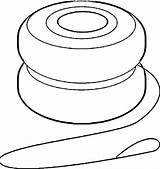 Yoyo Yo Coloring Clip Clipart Game Pages Printable Getcolorings Print sketch template
