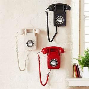Telephone Mural Vintage : t l phone mural design r tro 70 39 s ~ Teatrodelosmanantiales.com Idées de Décoration