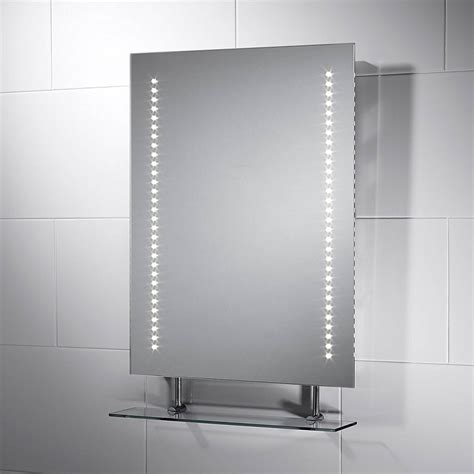 Bathroom Mirror With Shelf And Light by 17 Superior Bathroom Mirrors With Lights And Shaver Socket