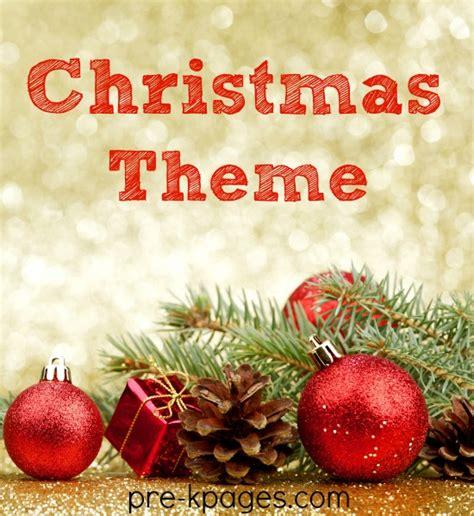 theme activities for preschool 478   preschool christmas theme