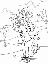 Kira Bailey American Doll Coloring Giveaway sketch template