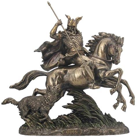 odin riding sleipnir statue mythology norse god gifts