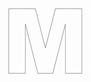 Letter M Template | Search Results | Calendar 2015