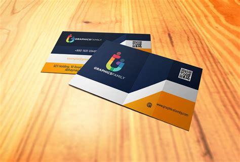 elegant realistic  business card design graphicsfamily