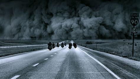 Fondos De Pantalla Carreteras Humo Motocicleta Descargar