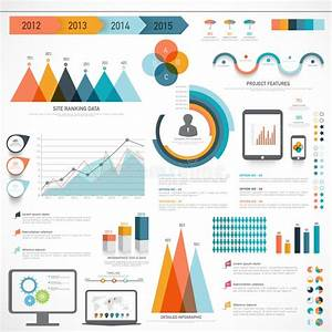 Set Of Business Infographic Elements  Stock Illustration