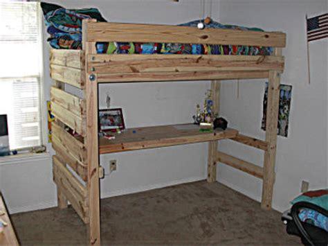 diy loft bed with desk loft bed plans with desk bed plans diy blueprints