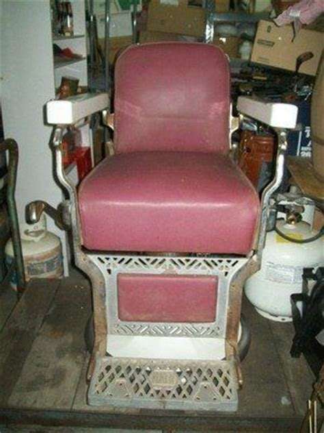 vintage koken barber chair for sale barber chairs poles