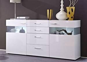 Sideboard Nussbaum Weiß Hochglanz : sideboard m bel einebinsenweisheit ~ Bigdaddyawards.com Haus und Dekorationen