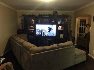 angling sectional in long narrow living room With how to arrange sectional sofa in small living room
