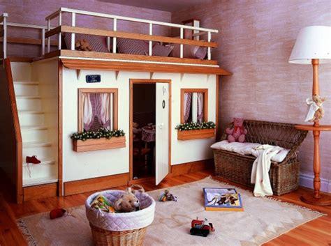 cabane chambre fille me you de madrid decoracion lit cabane bois déco