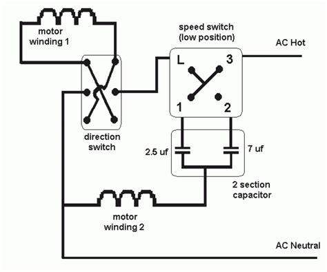 schematic 3 speed fan powerking co