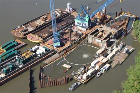 Boat Salvage Yard Baltimore by Removal Of Sunken Liberty Ship Davy Crockett Completed