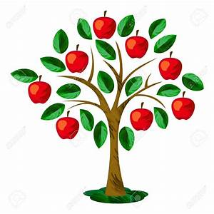 Apple tree leaf clipart collection