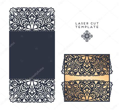 laser cut template stock vector  vikasnezh
