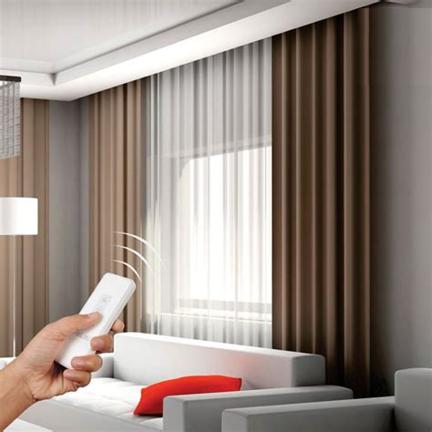 Remote Drapes by Dooya Ac Drapery Motor Dt82 For Electric Curtain And