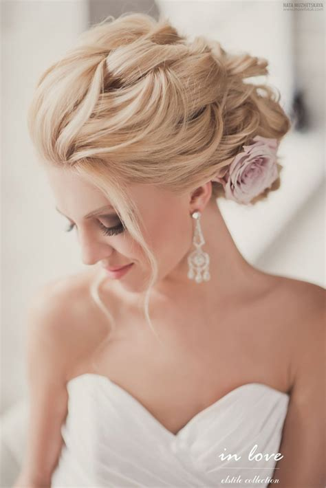 gorgeous wedding hairstyles and makeup ideas crazyforus