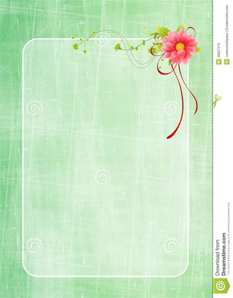 floral greeting card design royalty  stock photo