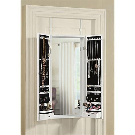 the door jewelry organizer door solutions the door tri fold mirror and jewelry
