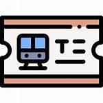 Train Icons Ticket Icon