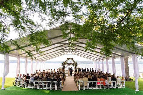 tented outdoor wedding by bliss weddings events