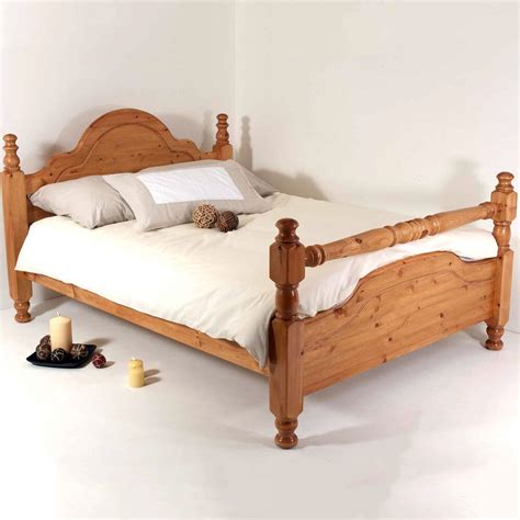 King Bed And Frame by 6ft King Bed Frame Solid Pine All Sizes Available