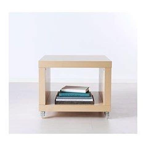 Ikea Desk Legs With Casters by Lack Side Table On Casters Birch Effect Ikea 29 99 21