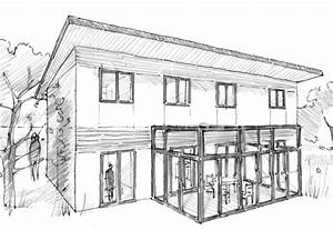 plan maison a etage avec 5 chambres ooreka With delightful dessiner maison en 3d 6 plan maison en u en bois ooreka