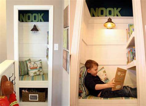 reading nook walk in closet