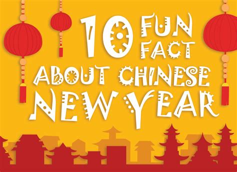 10 Fun Facts About Chinese New Year (infographic)