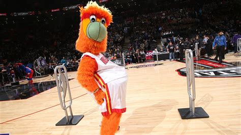 miami heat mascot burnie fails miserably   flip